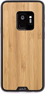 MOUS Protective Samsung Galaxy S9 Case - Real Bamboo Wood - Screen Protector Inc.