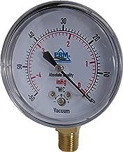 Best inches of water vacuum gauge Reviews