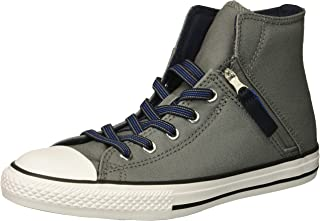 Converse Kids' Chuck Taylor All Star Pull Zip High Top Sneaker