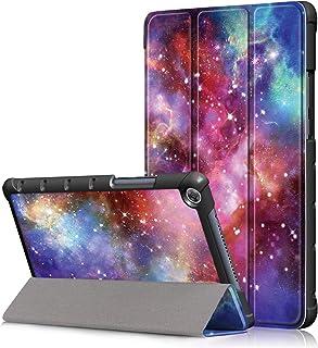 Asng HUAWEI 8.0インチ MediaPad M5 Lite Touch ケース Huawei MediaPad T5 8.0 / Huawei MediaPad M5 lite 8イン-チ カバー 三つ折スタンドカバー マグネット開...
