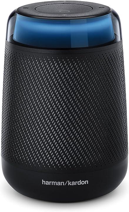 Altoparlante portatile con alexa integrata, smart speaker bluetooth harman-kardon HB8MP
