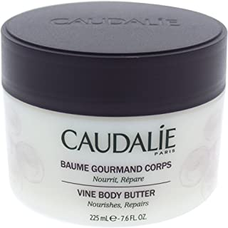 Caudale Vine Body Butter. Rich, Nourishing Body Lotion with Shea Butter and Grape Seed Oil. Delicately Scented, for Day and Night to Alleviate Dry Skin (7.6 Ounce / 225 Milliliters)