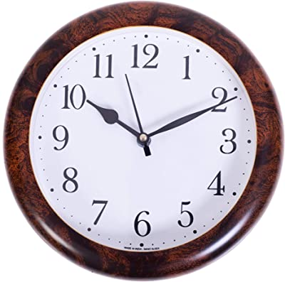 Wooden foil cola Color Frame Compact Size Wall Clock