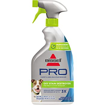 Bissell Destroyer Pet Plus, 1773, 22 oz Oxy Stain Pretreat, 22 Fl Oz, 22 Fl Oz