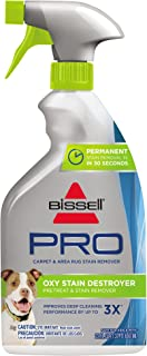 Bissell Destroyer Pet Plus, 1773, 22 oz Oxy Stain Pretreat, 22 Fl Oz