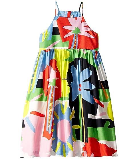 Stella McCartney Kids Sleeveless Palms Dress Early (Toddler/Little Kids/Big Kids)