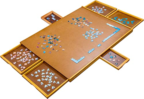 """high quality Jumbl 1500-Piece Puzzle Board 
