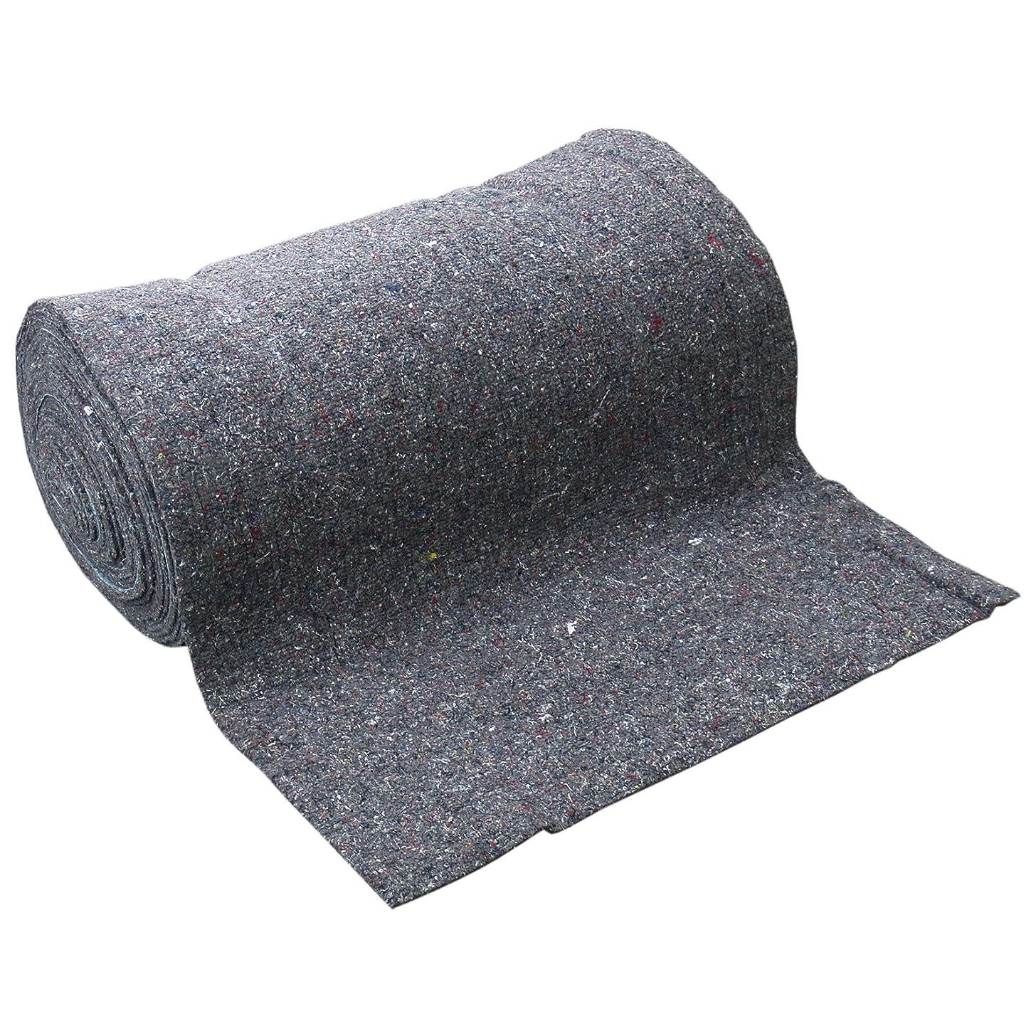病上にスペードサンフェルト 粗毛フェルト 合繊ニードル MIX 8mm厚 910mm巾×20m