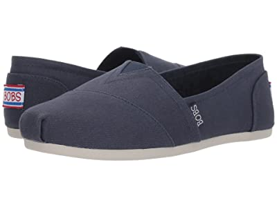 BOBS from SKECHERS Bobs Plush Peace Love (Dark Navy) Women