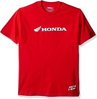 Factory Effex 15-88332 'Honda' Horizontal T-Shirt (Red, Large)