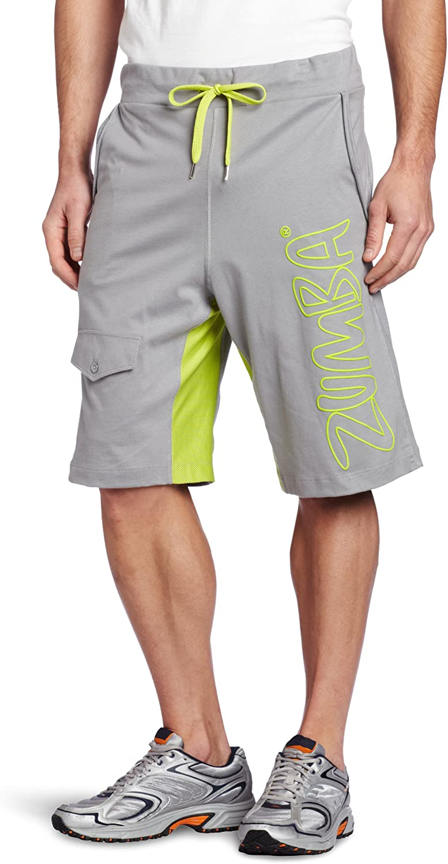Zumba Men's New Max 60% OFF Shipping Free Fitness Shorts LLC Slam