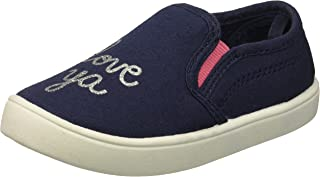 Carter's Kids Girl's Tween8 Navy Casual Slip-on Loafer