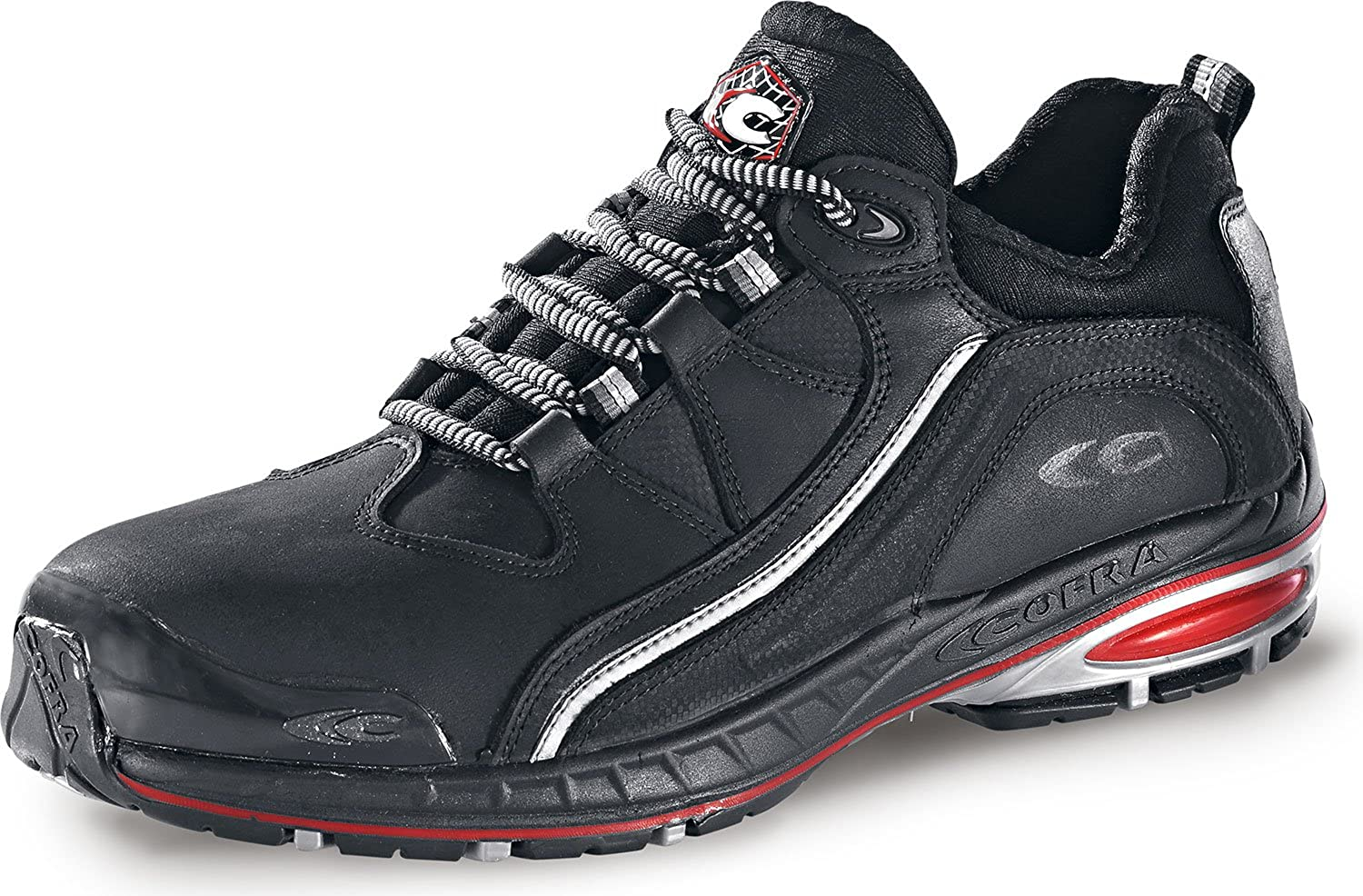 Cofra 19120-000.W44 Safety shoes Halfback S3 SRC Size 44 in Black