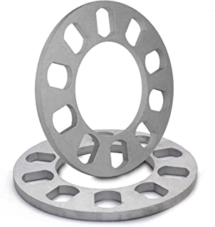 8mm Thickness Wheel Spacers for 5x108mm (5x4.25), 5x110mm, 5x112mm, 5x114.30mm (5x4.50), 5x115mm, 5x120.65mm (5x4.75), 5x120mm, 5x127mm (5x5.00), 5x130mm, 5x135mm