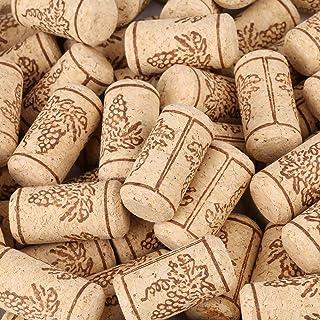 Estink- Lot de 100 bouchons en liège naturel droit 22 x 44 mm