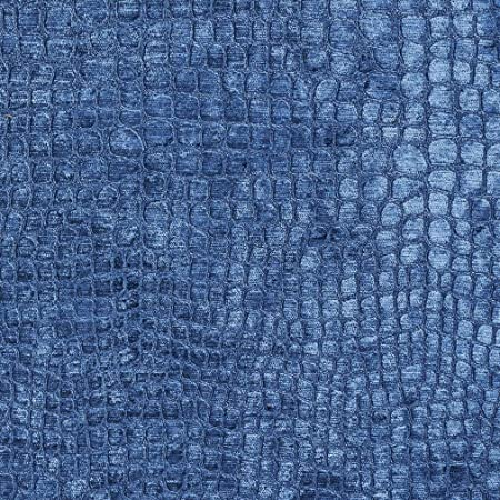 Amazon Com A0151e Off White Textured Alligator Shiny Woven Velvet Contemporary Upholstery Fabric By The Yard