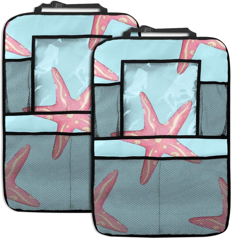 Latest item NELife Backseat Organizer 2 Pack - Brand new S Car Pink Seat Starfish Back