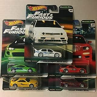 Hot Wheels 2019 Fast & Furious Premium B Release 5 CAR Set