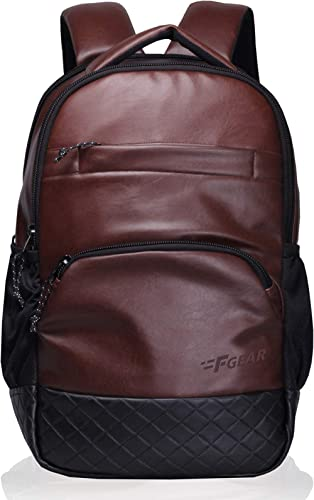 F Gear Luxur 25 Ltrs Brown Laptop Backpack (2404) product image