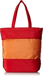 Beyond a Bag Expandable Tote, Mandarin Red, One Size