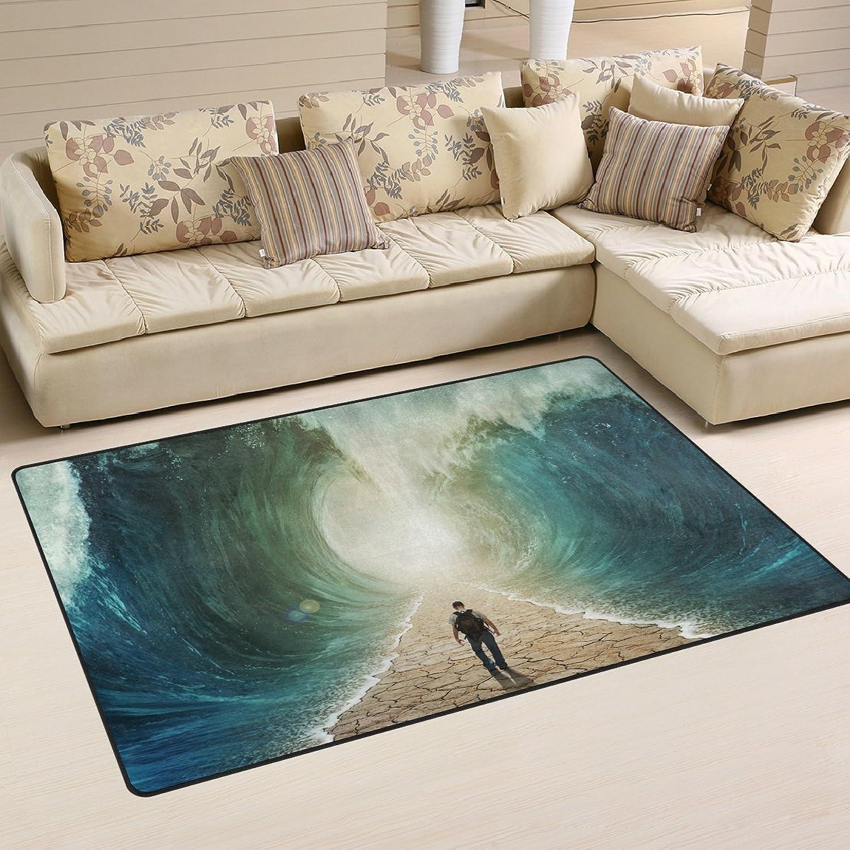 Door Mat Letter Printed Entrance Floor Rug Notice Home Non-slip Doormat Sofa