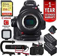 Canon EOS C100 Mark II Cinema Camera Body Only + 256GB Extreme SD Card Professional Combo International Version