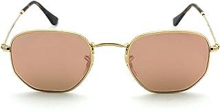 Ray-Ban RB3548N Hexagonal Flat Lenses Unisex Sunglasses...