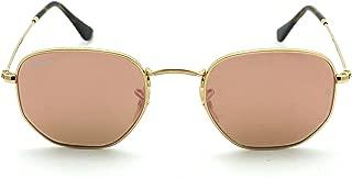 RB3548N Hexagonal Flat Lenses Unisex Sunglasses 001/Z2 -...