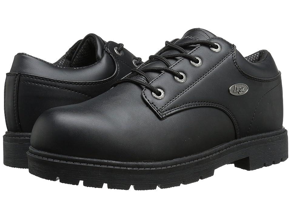 Lugz Warrant Low (Black Smooth) Men