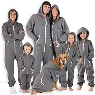 Joggies - Family Matching Rock Gray Hoodie Onesies for Boys, Girls, Men, Women and Pets