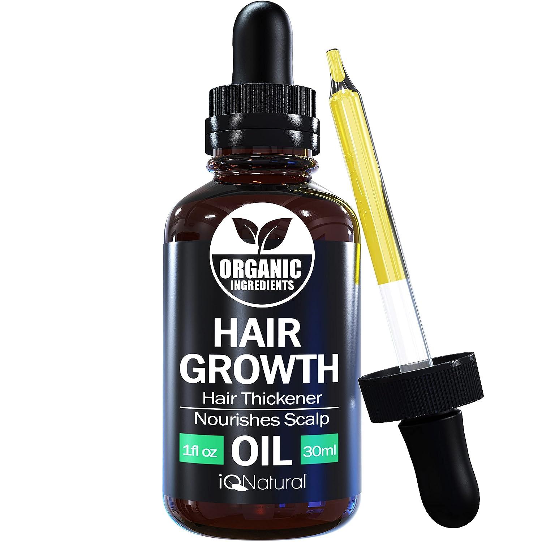 Hair Growth Serum By IQ Natural Help Bargain sale N - New sales to Grow Oil