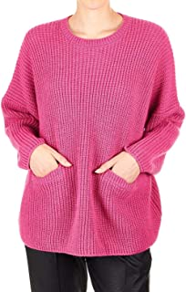 MANILA GRACE Luxury Fashion Womens M278WUMD760 Pink Sweater | Fall Winter 19