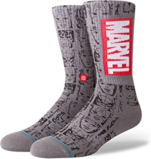 Stance, Marvel Icons Everyday Light Cushion Calcetines Hombre Gris