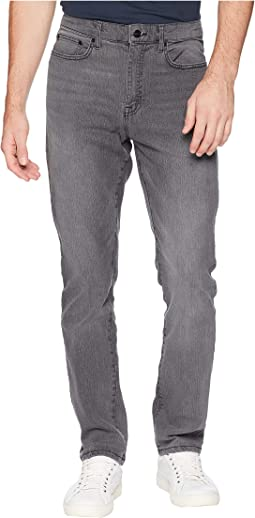 Slim Five-Pocket Denim in Grey