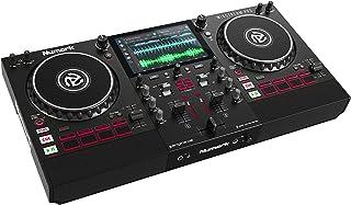Numark Mixstream Pro - Standalone DJ Controller met luidsprekers, 7-inch touchscreen, WiFi-streaming, smart lichtbedienin...