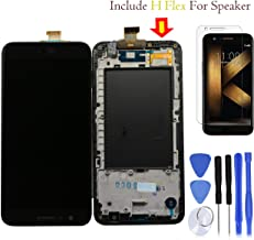 Eaglewireless Best Quality Compatible K20 PLUS Full LCD Assembly With Touch Screen Digitizer and LCD Pre-installed Replacement With Frame Housing For LG K20 Plus T-Mobile TP260 MP260 / Verizon-VS501