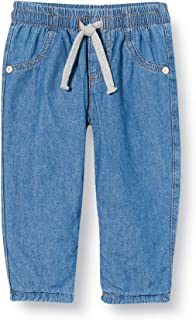 United Colors of Benetton (Z6ERJ) Pantalone Jeans, BLU 902, 68 cm para Niños