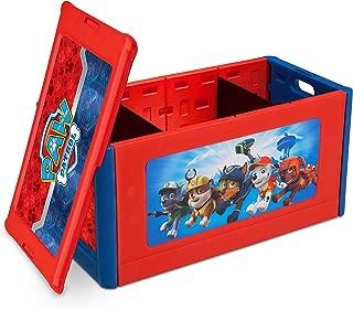 Delta Children Store and Organize Toy Box, Nick Jr. PAW Patrol