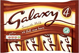 Galaxy Smooth Milk Bars Original Galaxy Chocolate Bar Pack Imported From The UK England The Very Best Of British Galaxy Chocolate Bars