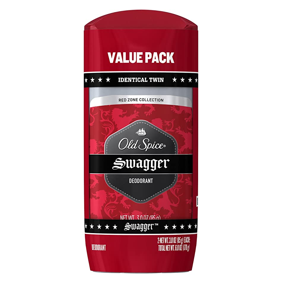 Old Spice Aluminum Free Deodorant for Men Red Zone Collection, Pure Sport, Lemon Lime Scent, 3 Oz (Pack of 2)