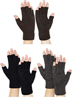 ladies half finger gloves