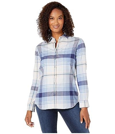 Pendleton Primary Flannel Shirt (Light Blue Multi Plaid) Women