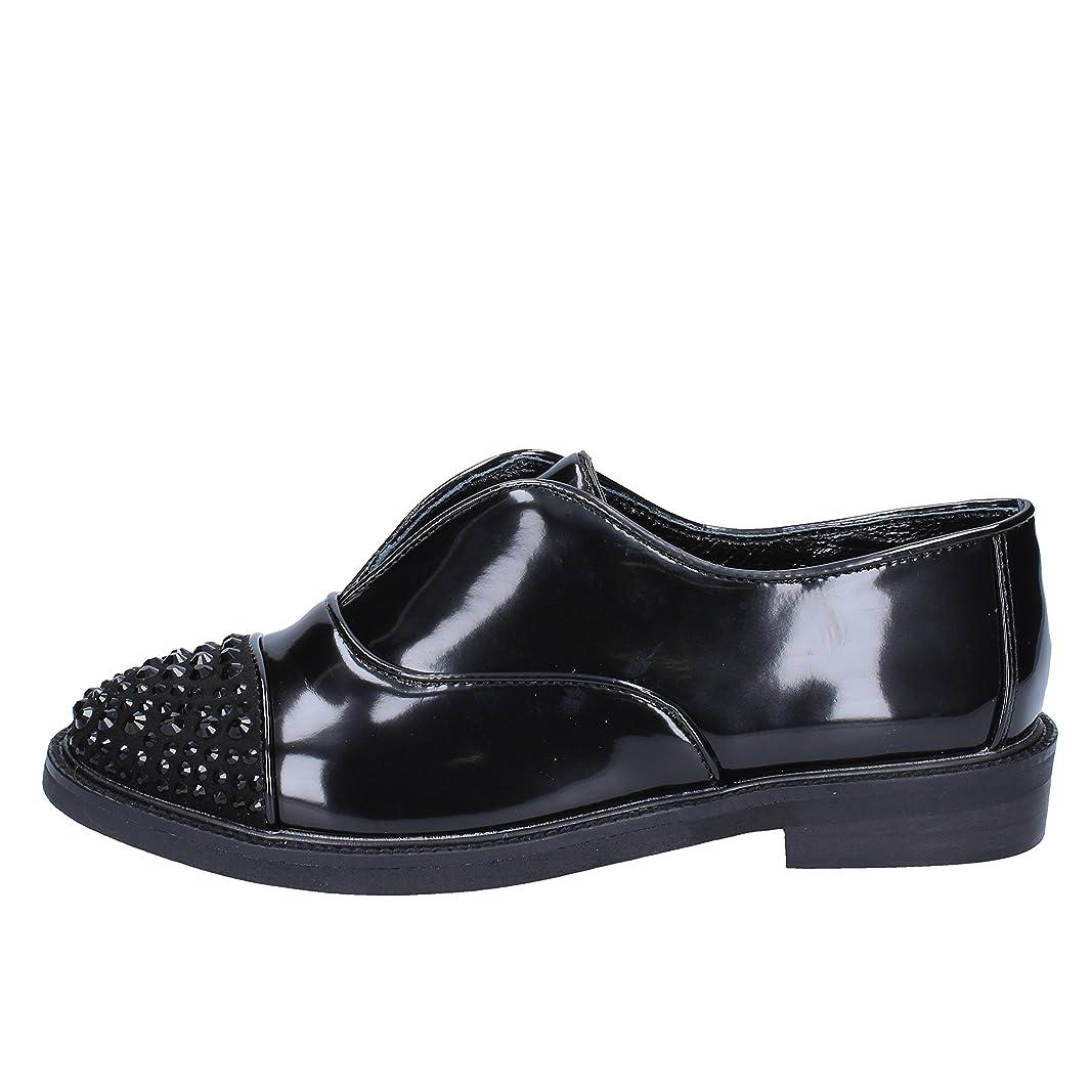幹ジェーンオースティン押し下げる[SARA LOPEZ] 古典的な女性の靴 レディース レザー ブラック 23.5cm