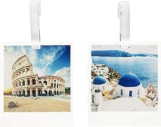 Travelon Set of 2 Novelty Luggage Tags, Polaroids