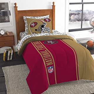 NFL Soft & Cozy 5-Piece Twin Size Bed in a Bag Set