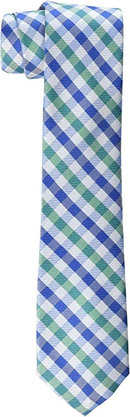 Gingham Check Tie (Big Kids)