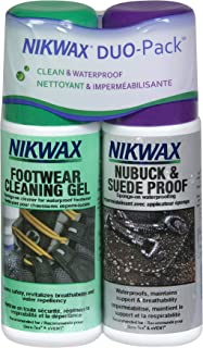 Nikwax Nubuck & Suede Footwear Clean/Waterproof DUO-Pack