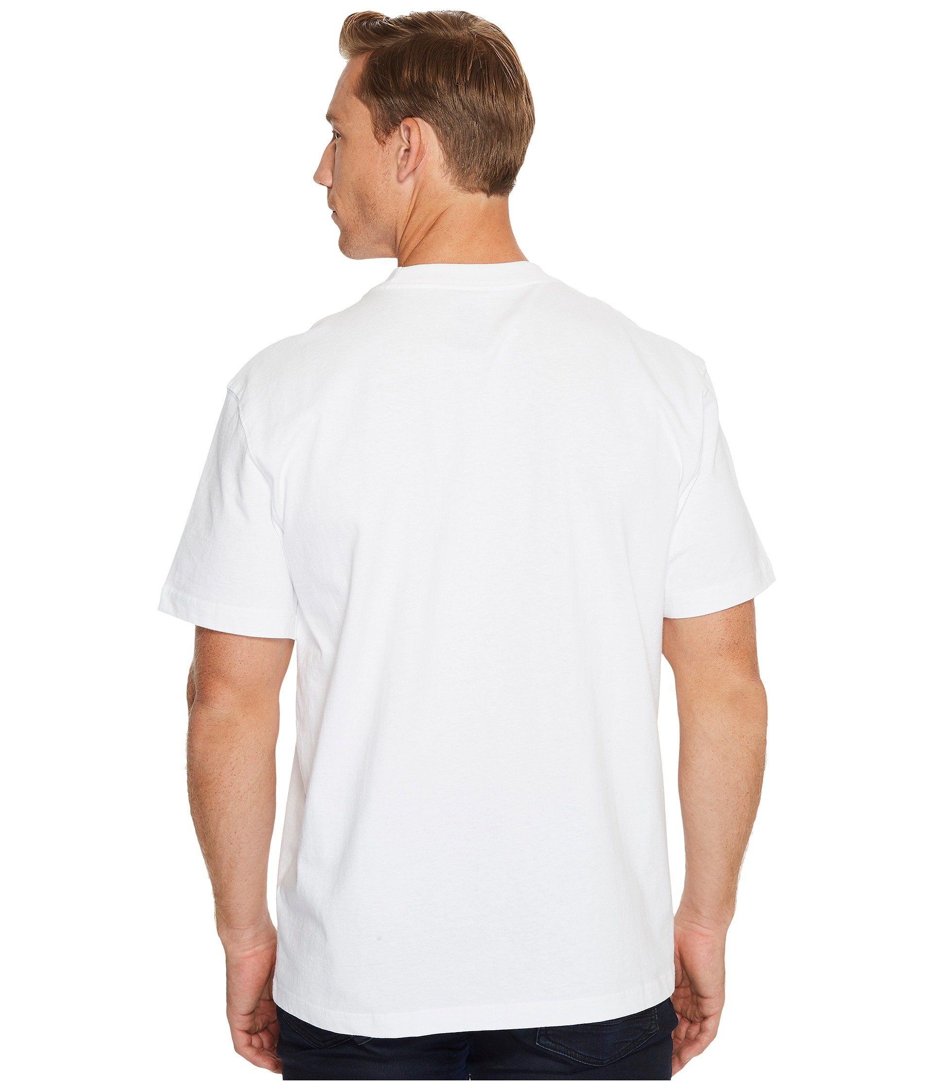 Dickies Heavyweight Neck White Crew Tee C7pSxwqCv
