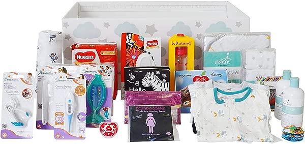 芬恩宾婴儿箱摇篮捆绑包芬兰 LITE 安全便携式卧铺和初学者套件适合您的新生婴儿男孩或女孩