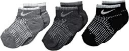 Nike Kids - 3-Pair Pack Print Low Socks (Toddler)